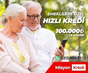 misyonkredi emeklilere kredi